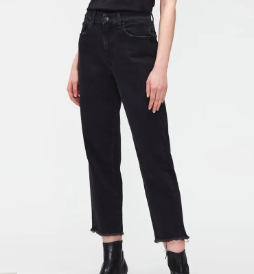 7 FOR ALL MANKIND Vaquero negro The Modern Straight