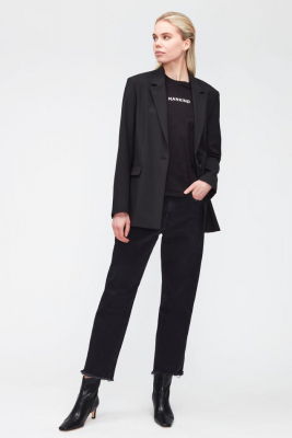 7 FOR ALL MANKIND Vaquero negro The Modern Straight - 2
