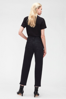 7 FOR ALL MANKIND Vaquero negro The Modern Straight - 4