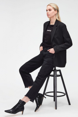 7 FOR ALL MANKIND Vaquero negro The Modern Straight - 6