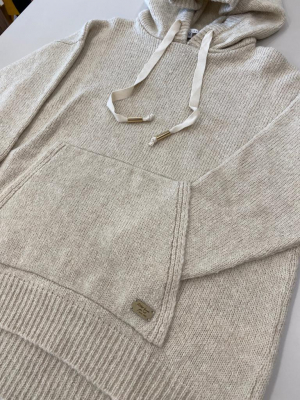 ALBA CONDE Jersey con capucha crudo - 3