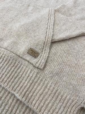 ALBA CONDE Jersey con capucha crudo - 4