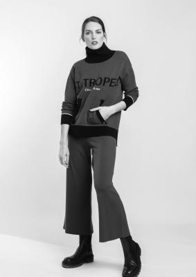 ALBA CONDE Jersey de punto cuello alto con bolsillo - 4