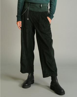 HIGH Pantalón ancho pana - 2