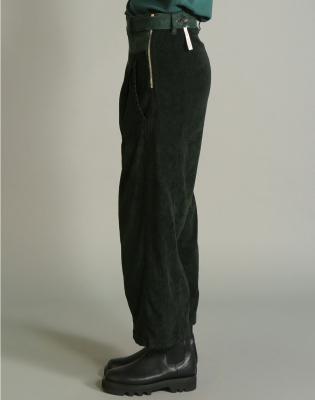 HIGH Pantalón ancho pana - 3