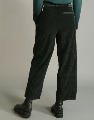 HIGH Pantalón ancho pana - 4