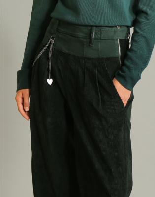 HIGH Pantalón ancho pana - 5