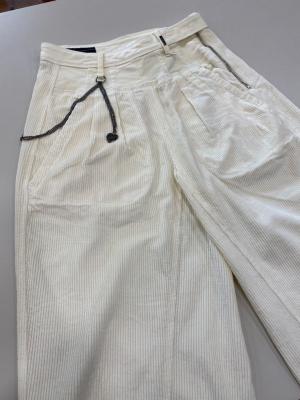 HIGH Pantalón ancho pana - 6