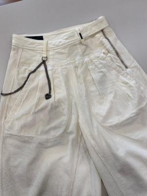 HIGH Pantalón ancho pana - 7