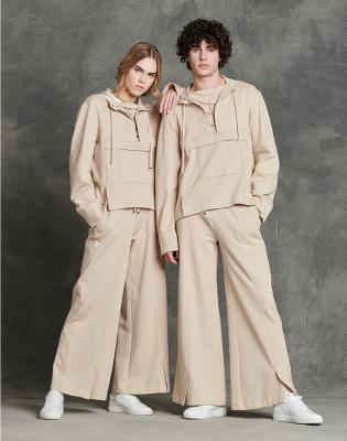 HIGH Sudadera con capucha y cordones color beig - 2