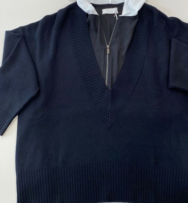 LIU JO Jersey fino con cuello V - 2
