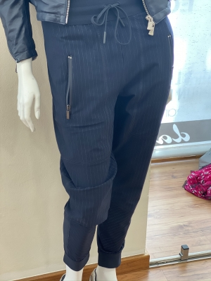 HIGH pantalones raya diplomática - 2