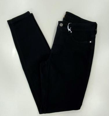MAC JEANS Pantalón básico tejano negro