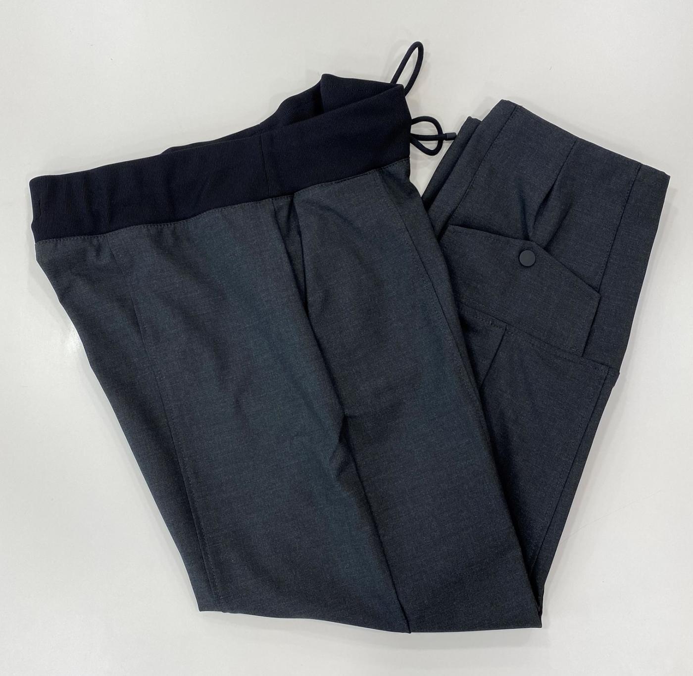 MAC JEANS Pantalón gris oscuro -