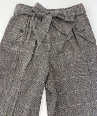 LIU JO pantalón tobillero de cuadros - 1