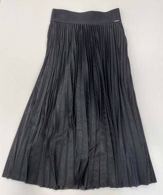 LIU JO falda midi metalizada - 3