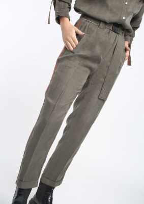 ALBA CONDE Pantalón largo recto - 1