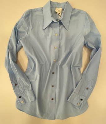 ALYSI Camisa básica azul claro