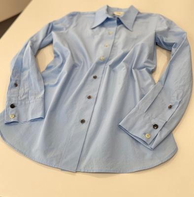 ALYSI Camisa básica azul claro - 3
