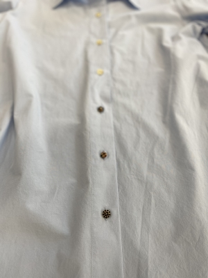 ALYSI Camisa básica azul claro - 4