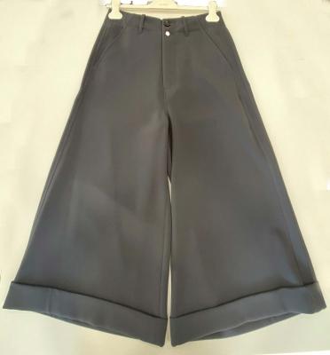 ALYSI Pantalón culotte antracita