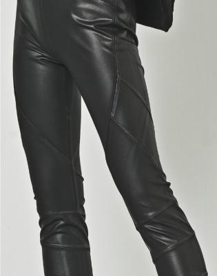 HIGH Pantalón super skinny negro