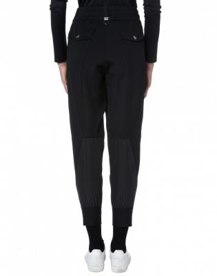 HIGH Pantalón negro holgado - 2