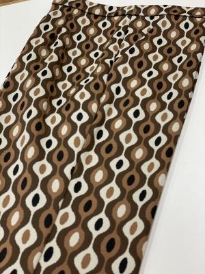 MALÌPARMI Pantalón estampado marrón - 5