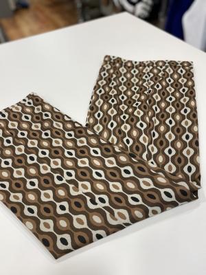 MALÌPARMI Pantalón estampado marrón - 6