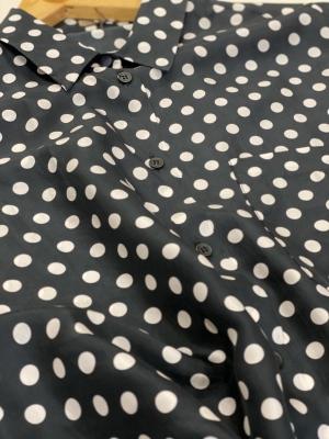 MALÌPARMI Camisa de seda con lunares - 4