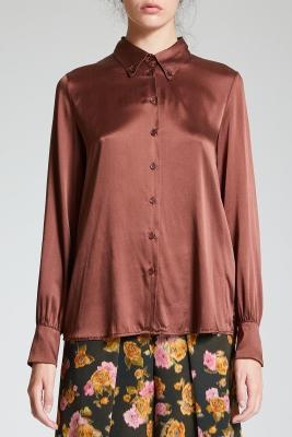 MALÌPARMI Camisa de seda - 1
