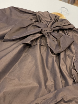 MALÌPARMI Blusa lazada marrón - 1