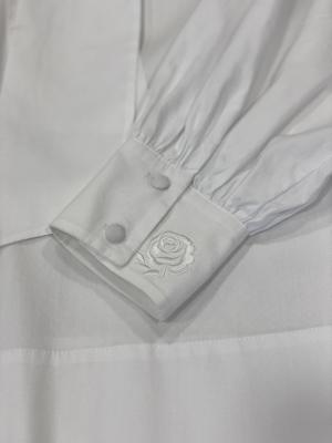 MALÌPARMI Blusa lazada blanca - 3