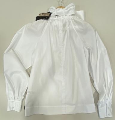 MALÌPARMI Blusa lazada blanca - 4