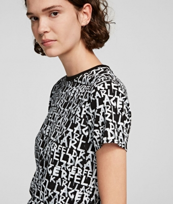 KARL LAGERFELD Camiseta estamapada grafiti