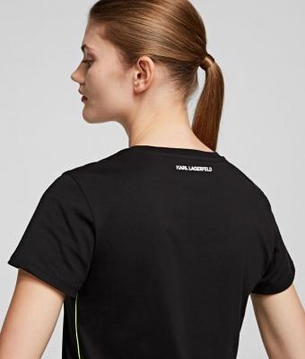 KARL LAGERFELD Camiseta con silueta Karl fluorescente k/ikonik - 3