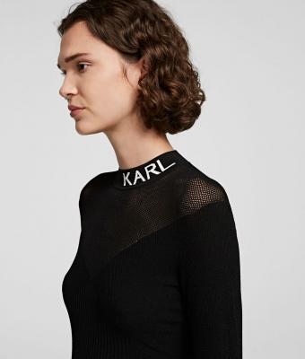 KARL LAGERFELD Jersey de cuello alto - 2
