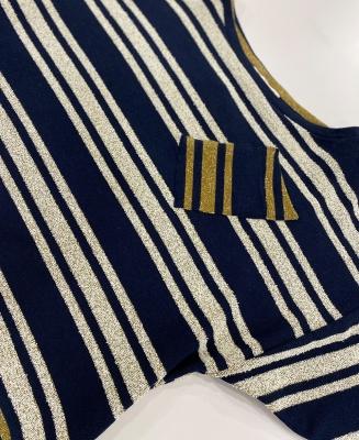 LUCKY & CO Jersey de punto rayas metalizadas - 3