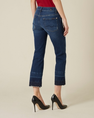 7 FOR ALL MANKIND Vaquero bootcut de talle medio - 3