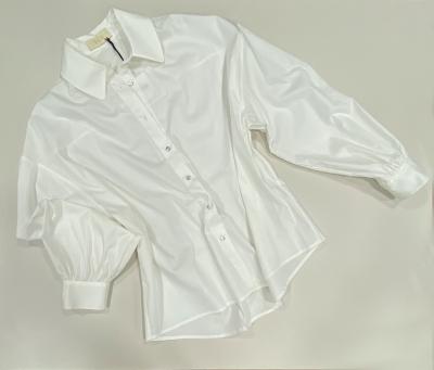 TCN Camisa blanco roto básica manga larga - 1