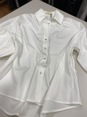 TCN Camisa blanco roto básica manga larga - 2