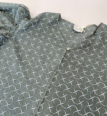 ALYSI Blusa estampada en algodón - 3