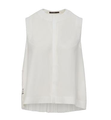 HIGH blusa sin mangas espalda evasé - 5