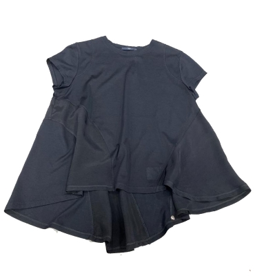HIGH camiseta evasé contraste tejidos - 2