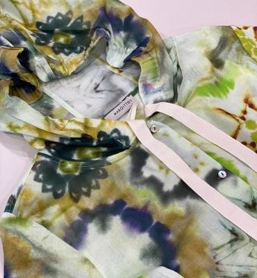 MARGITTES camisa con capucha multicolor - 1