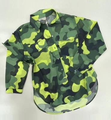 MARGITTES Camisa estampado camuflaje - 1