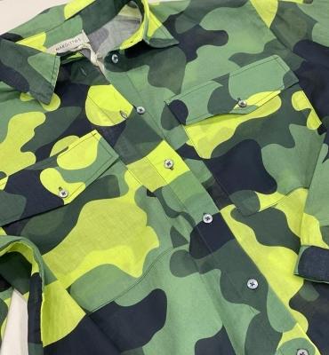 MARGITTES Camisa estampado camuflaje - 2