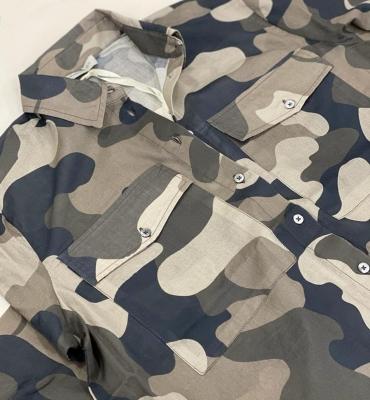 MARGITTES Camisa estampado camuflaje - 3