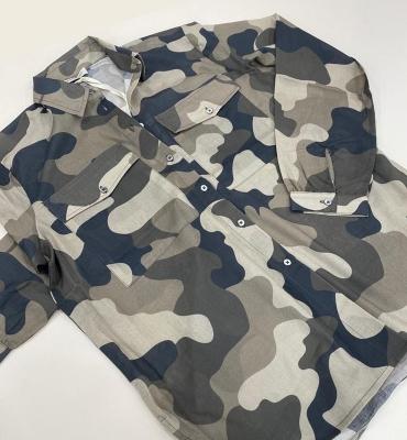 MARGITTES Camisa estampado camuflaje - 4