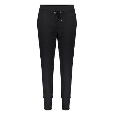 MAC Pantalón elástico negro - 5